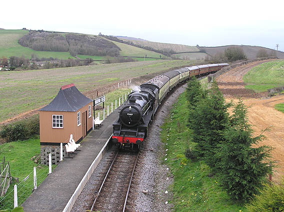 Doniford Halt, West Somerset Railway
