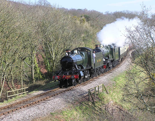 Passing Water Farm, West Somerset Railway