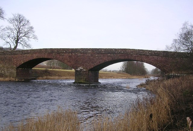 Bridge across the Clyde near Lamington
