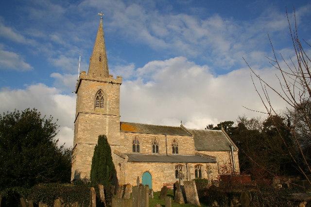 All Saints' church, Wellingore, Lincs.