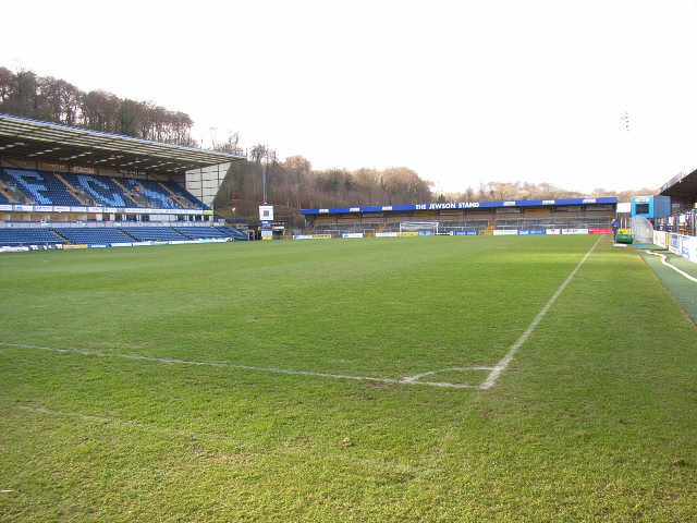 The Causeway Stadium pitch