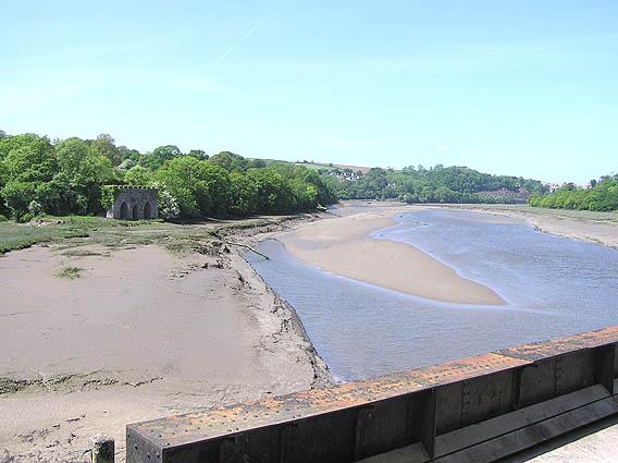 River Torridge from Landcross viaduct