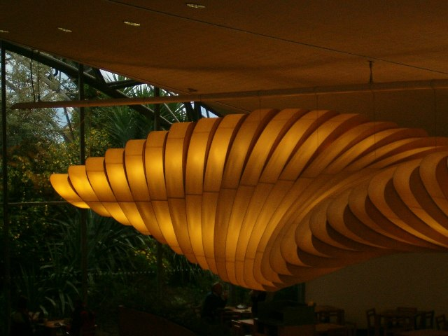 Lighting and sculpture, Eden Project