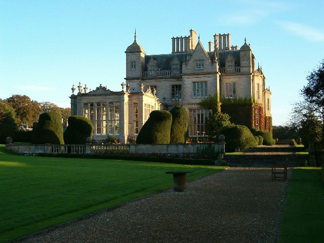 Dawn at Stoke Rochford Hall