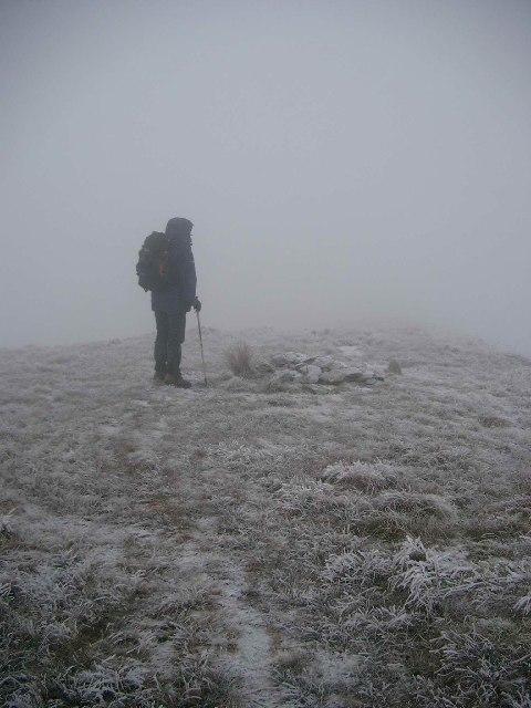 The summit of Beinn Eich