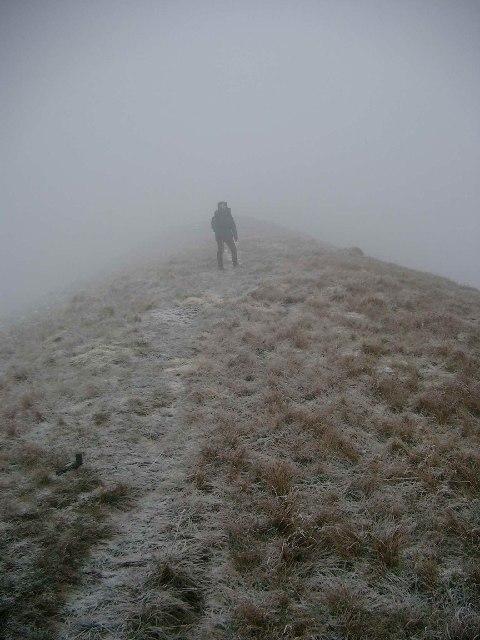 NW ridge of Beinn Eich