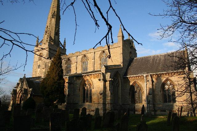 St.Chad's church, Welbourn, Lincs