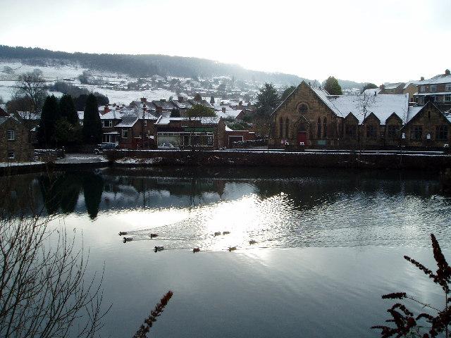 Cromford Mill Pond