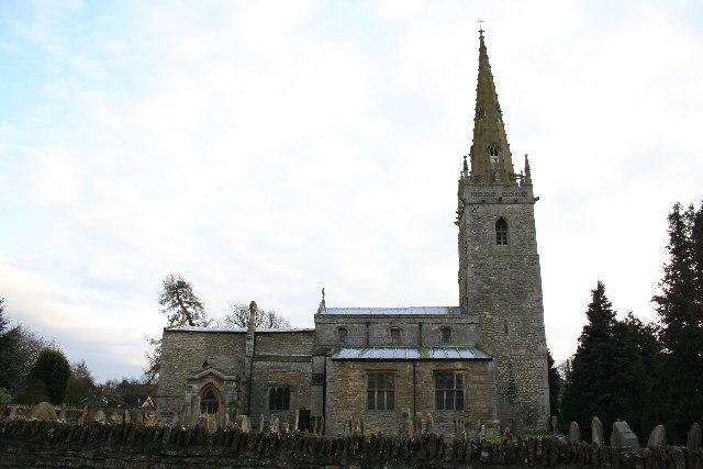 All Saints' church, Coleby, Lincs.