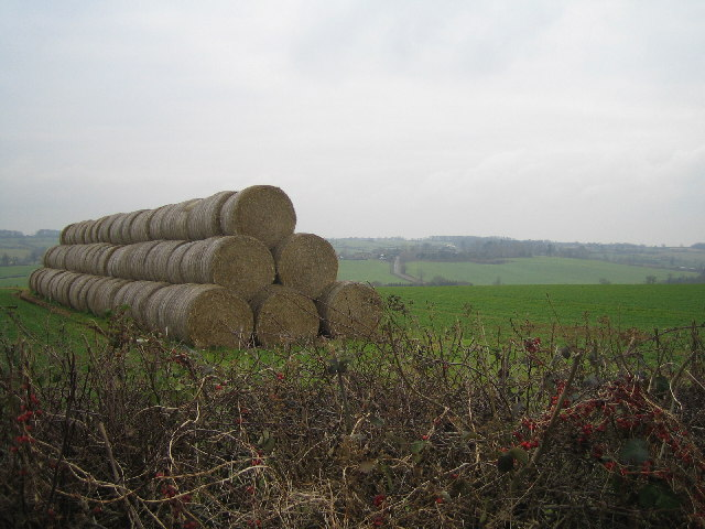 Haystack near Farthingstone