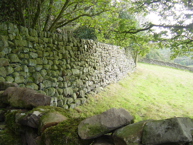 Enormous and wonderful stone wall