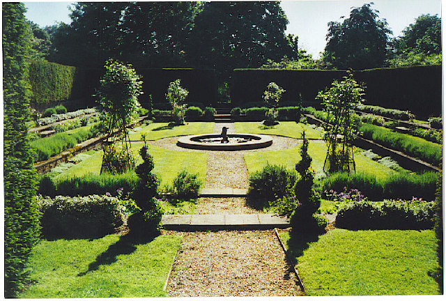 Clandon Park, the Dutch Garden