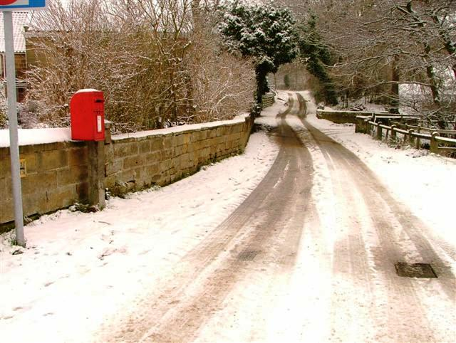 Postbox, Little Ayton