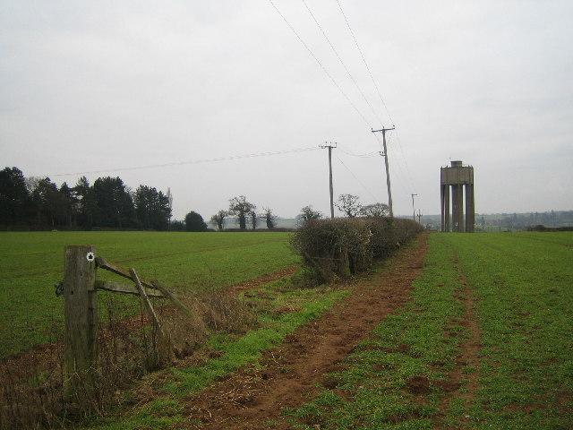 Water Tower at Heath Farm