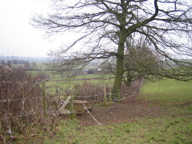Wood Farm near Everdon