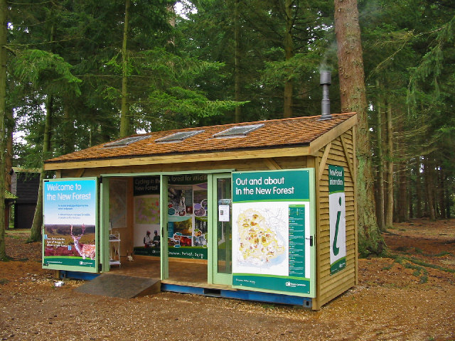 Information cabin Bolderwood New Forest