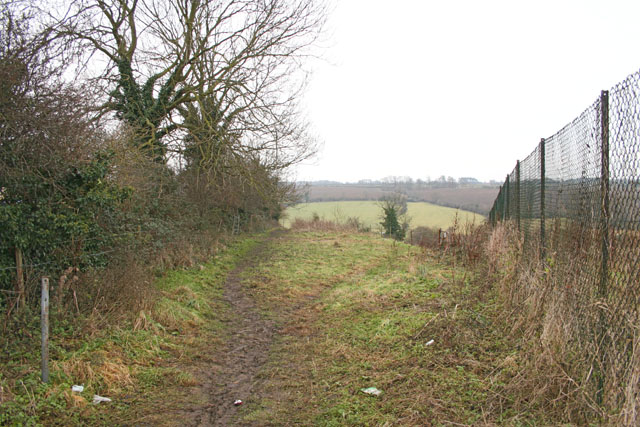 Footpath at Thurnby near Leicester