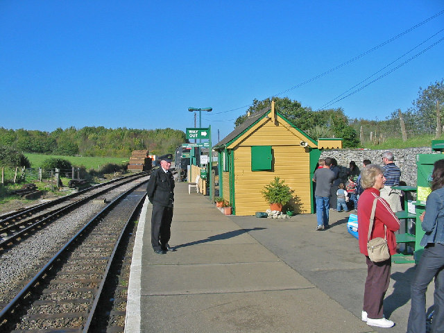 Norden railway station on the Swanage railway