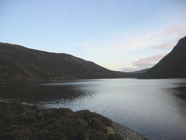 Looking NE over Loch Cuaich