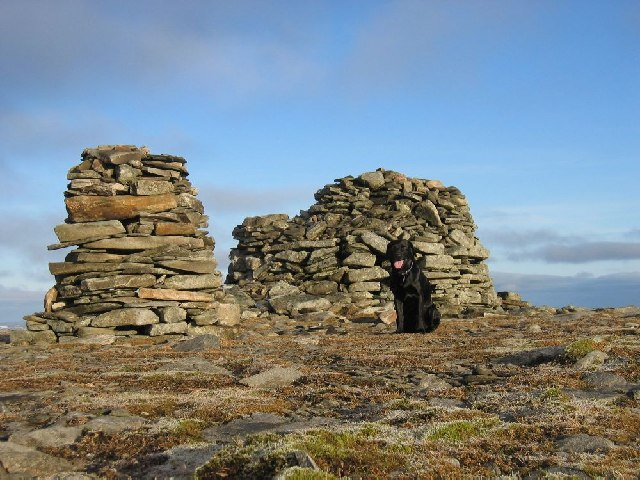 Summit of Meall Chuaich