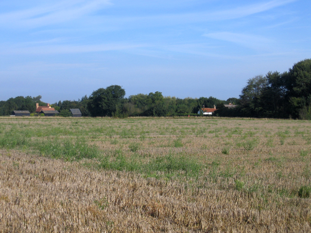 Farmland NW of Whittlesford, Cambs