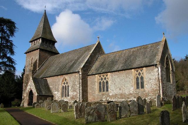 Kentchurch church