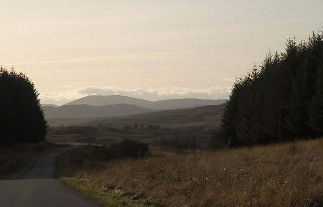 View to South West of Loch Doon