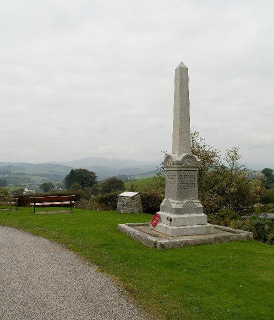 Balmaclellan Monument