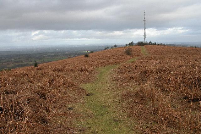 Transmitter on Garway Hill