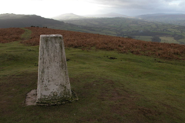 Trig Point on Garway Hill
