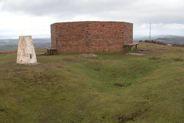 Summit of Garway Hill