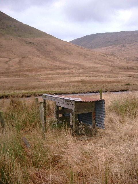 Small structure by the Luss Water