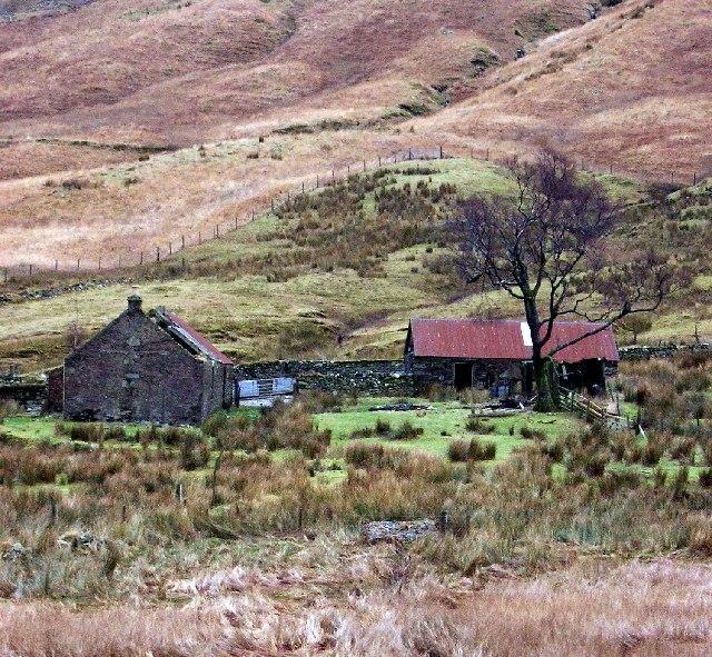 Gleann na Caorainn sheiling