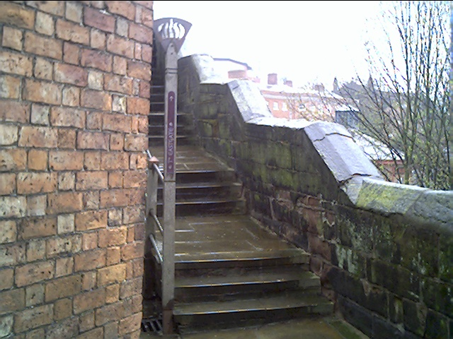 The Wishing Steps on the City Wall