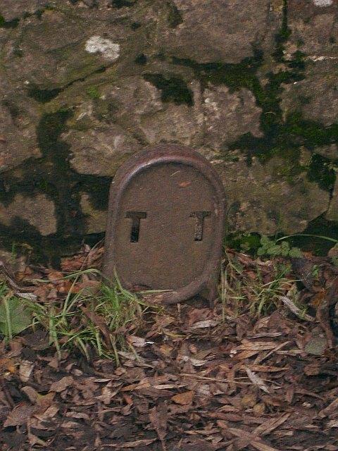 Unusual roadside marker