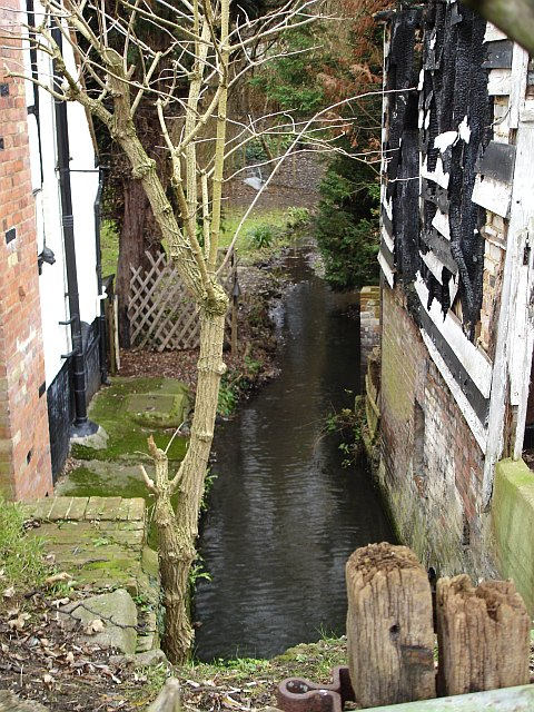 Boxley Mill leat