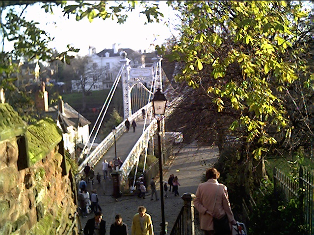 Suspension Bridge, Chester