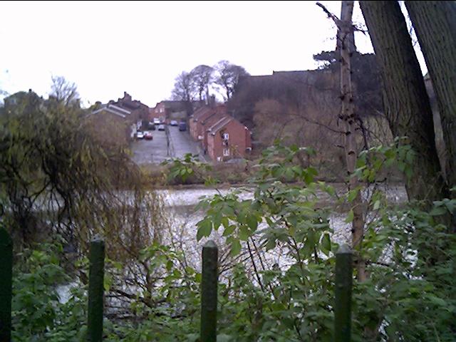 Handbridge from the rear of Chester Castle