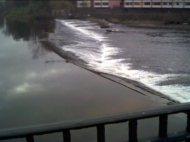 Weir at Chester Old Dee Bridge