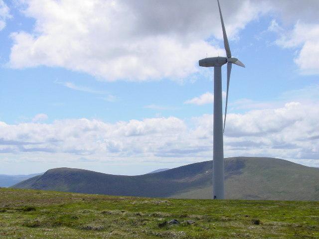 Wind turbine on Windy Standard