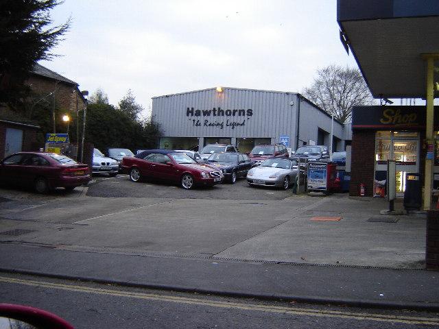 Hawthorn's Garage, Farnham