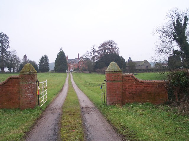 Moreton Jeffries Church and Moreton House