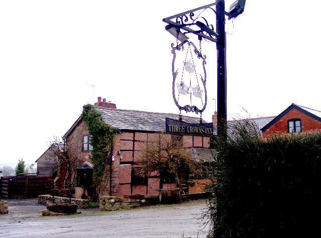 Three Crowns Inn, Bleak Acre