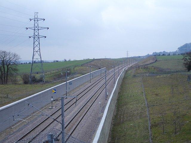 Channel Tunnel Rail Link near Boarley Farm