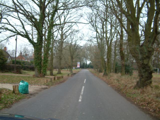 Vicarage Lane, Hound Green