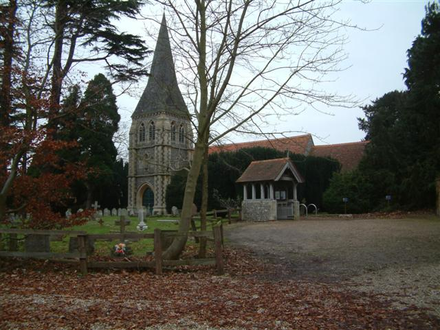 The Church of St, Leonard, Sherfield on Loddon