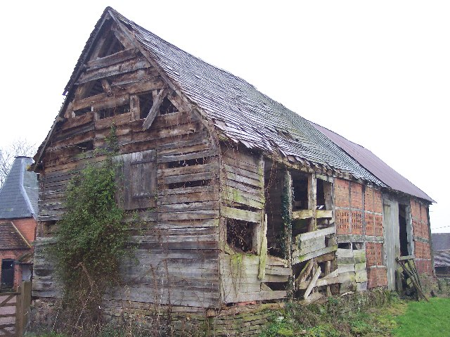 Dilapidated Barn, Mayfields Farm