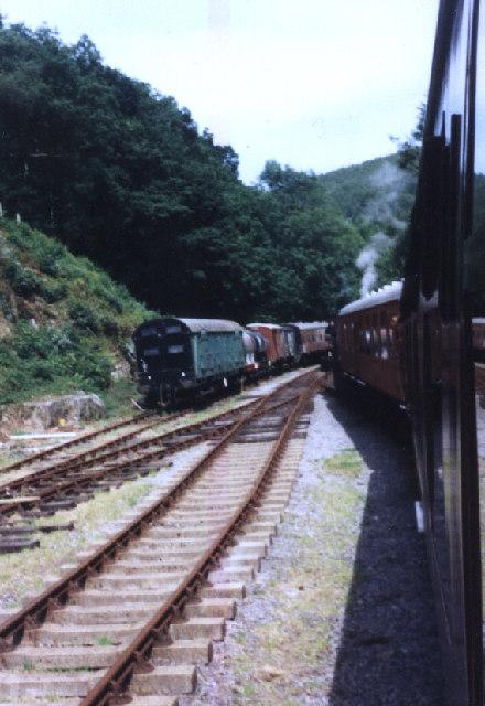 Llwyfan Cerrig Station
