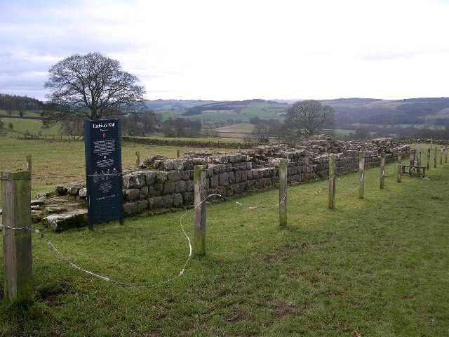 Roman Wall at Planetrees