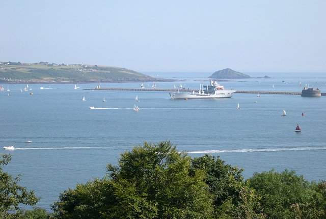 View from Mount Edgcumbe